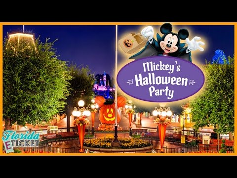 Florida E-Tick-or-Treat - 'Mickey's Halloween Party at Disneyland' - Oct. 8, 2016