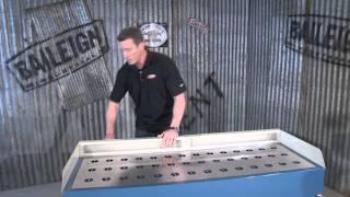 Baileigh Industrial Ddtm-5922 Metalworking Down Draft Table
