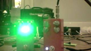 """Box of Hall"" Reverb Pedal- Belton Brick- Keeley 4 knob clone"