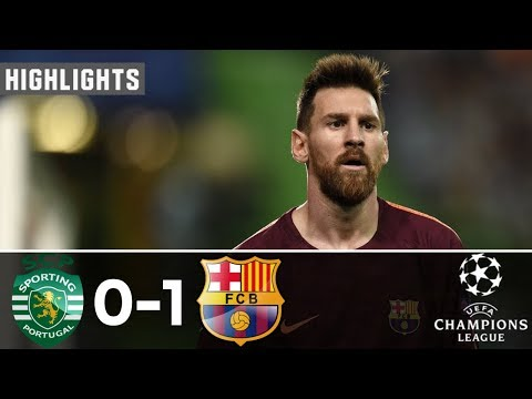 Sporting Lisbon Vs Barcelona 0-1 | All Goals & Extended Highlights - Resumen y Goles 27/09/2017
