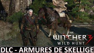 The Witcher 3 DLC - Armures de Skellige et équipements pour le cheval