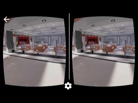 Imediacenter - Shopping Mall Virtual Tour (Google Cardboard mode)