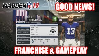 Everything You'll Wanna Know About Madden 19 Franchise Mode | New Features & Gameplay