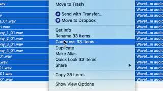Filename Cleanup on a Mac - #StudioOneMinute