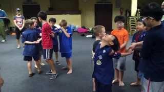 Team Building Game @ Fall 2012 Cub Scout Camp