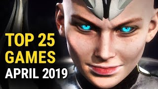 Top 25 NEW Games of April 2019  on PC, PS4, Xbox One and Switch