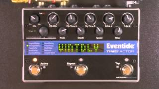 vuclip Eventide TimeFactor Twin Delay Review - BestGuitarEffects.com