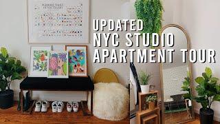 Updated NYC Studio Apartment Tour + DIY Decor Ideas   2019