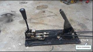 TECH - Gear lever and handbrake car