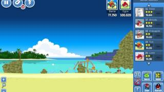 Angry Birds Surf and Turf 6 (facebook)