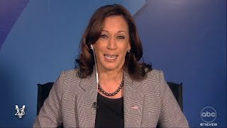 """VP Kamala Harris Talks Haitian Migrants, Afghanistan, Abortion and More On """"The View"""" 