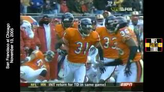 NFL Primetime, SF at Chi, 11/13/05, 108 Yard TD Return