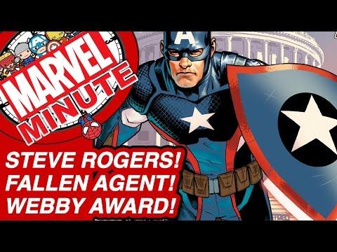 Steve Rogers! Fallen Agent! Webby Award! - Marvel Minute 2016