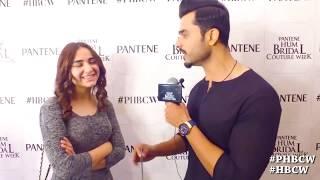 Gambar cover Pakistani Actor/Model Yumna Zaidi live at PHBCW 2017   Pantene Hum Bridal Couture Week 2017  