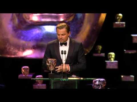 BAFTAs 2016: Leonardo DiCaprio inspired by Tom Courtenay