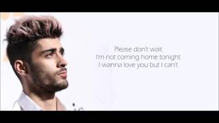 ZAYN - Rear View (Lyrics)