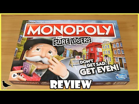 Monopoly For Sore Losers Board Game Review   Board Game Night