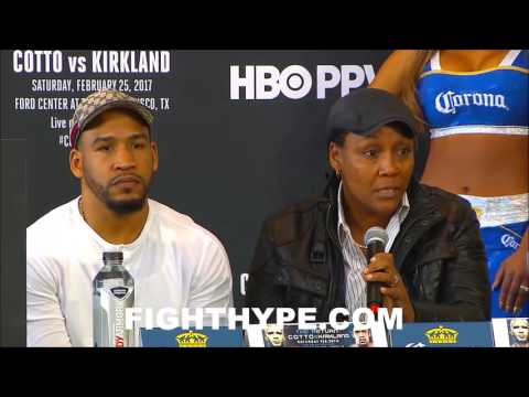 ANN WOLFE KEEPS IT REAL ABOUT TRAINING JAMES KIRKLAND FOR MIGUEL COTTO CLASH; TALKS GAME PLAN