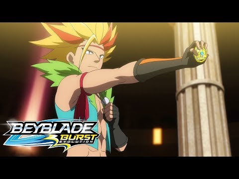 BEYBLADE BURST EVOLUTION Episode 14: Attack! Maximus Garuda!