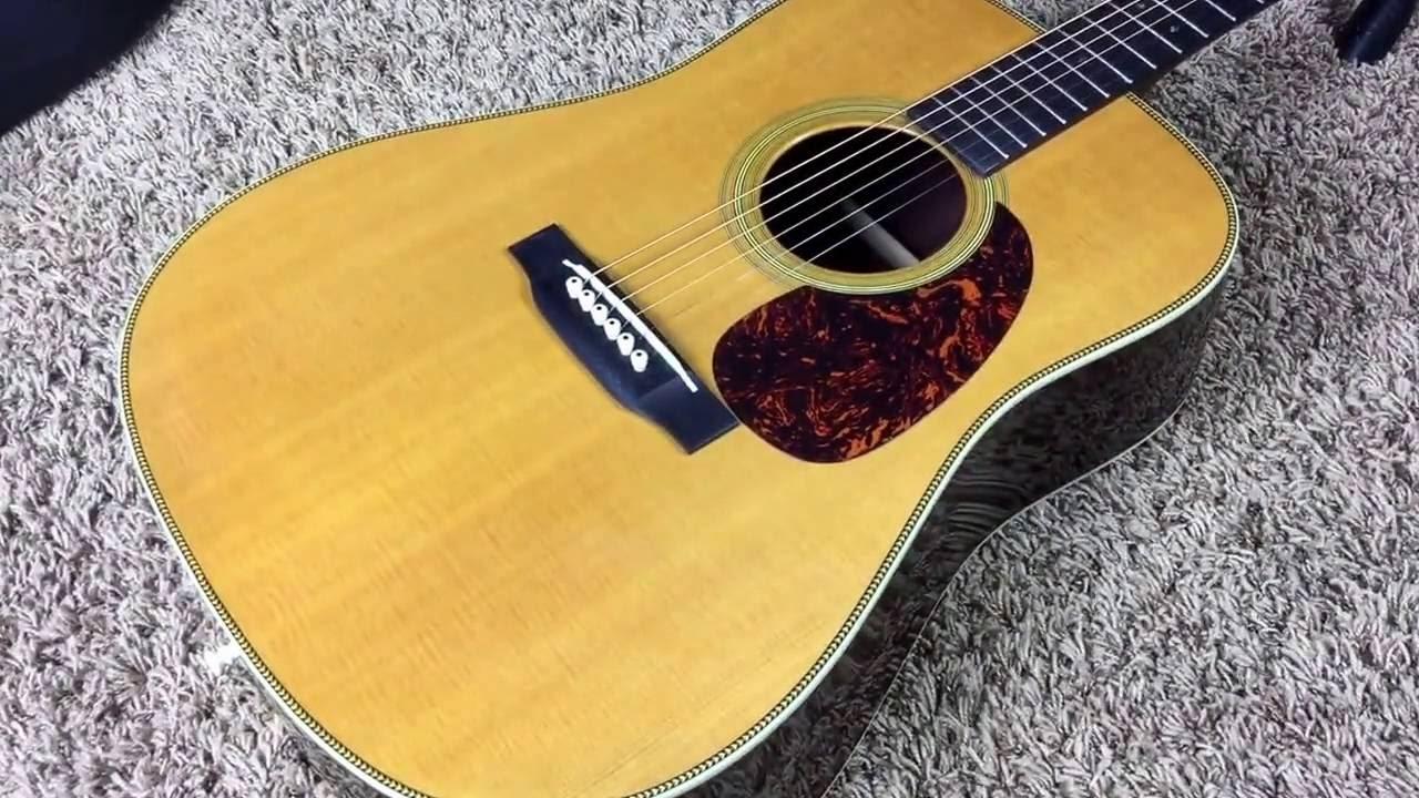 Trogly S Guitars 2000 Martin Hd28v Youtube