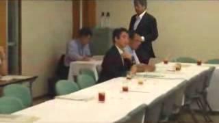 6月28日、韓国国会議員が竹島で会議をするとの報道を受けて、自民党は外...