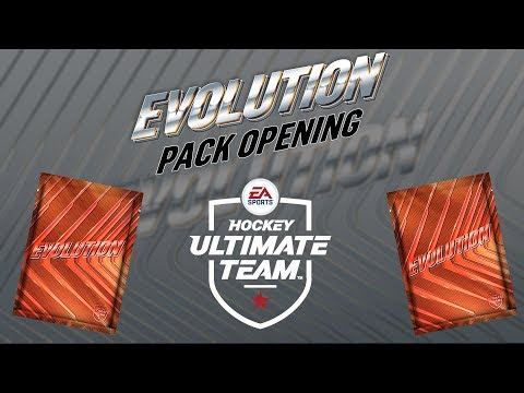 TRYING DIFFERENT PACK METHODS   NHL 19 HUT EVOLUTION PACK OPENING
