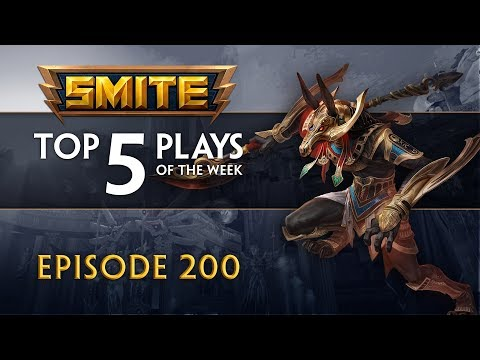 SMITE - Top 5 Plays #200