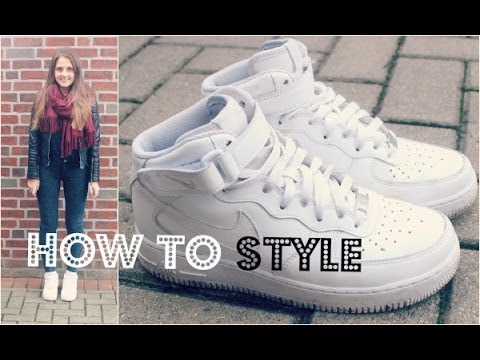 nike air force kombinieren how to style youtube. Black Bedroom Furniture Sets. Home Design Ideas
