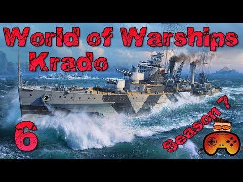 LANGWEILIG?! - Ranked S7 mit Krado #006 World of Warships - Deutsch/German - Gameplay