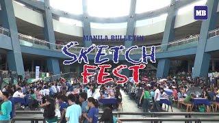 Manila Bulletin Sketch Fest 2016