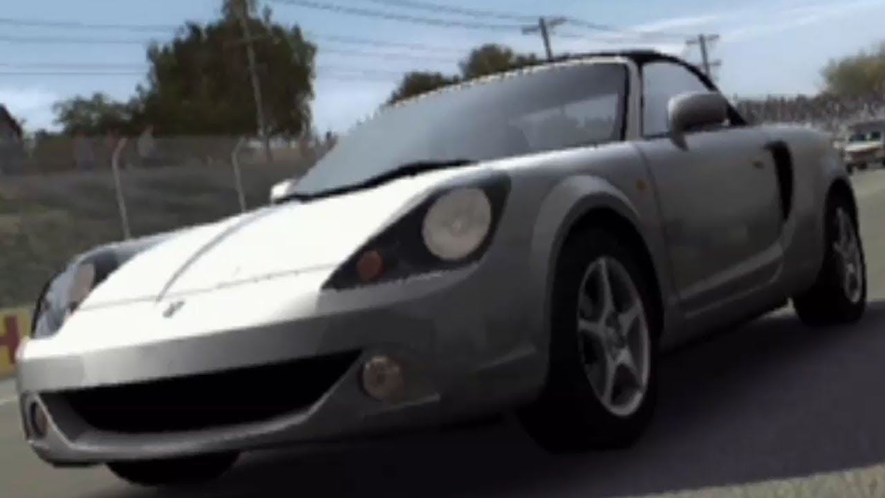 forza motorsport 1 - toyota mr-s 2002 - test drive gameplay (hd