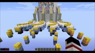 Minecraft mapa: Escadona (ondas) AM3NIC