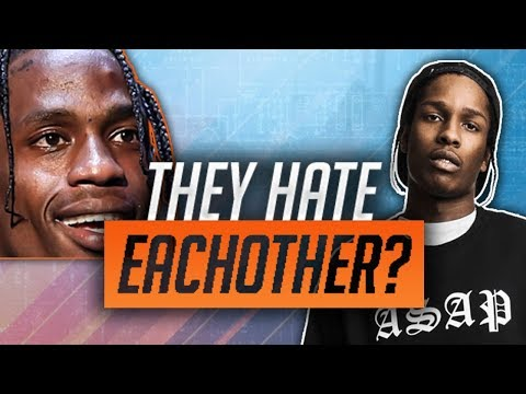 The FORGOTTEN ASAP Rocky & Travis Scott Beef!