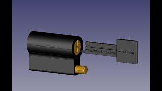 Unpickable Pin Tumbler Lock