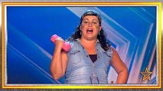 Patricia Balboa se lleva el 'no' del jurado con 'Lo malo' | Audiciones 3 | Got Talent España 2019