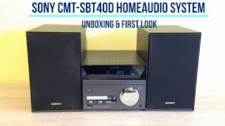 Sony CMT SBT40D Home Audio and DVD System