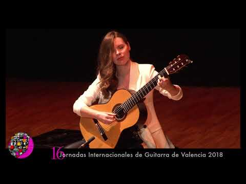 Milonga, de Jorge Cardoso. Tatyana Ryzhkova, guitarra