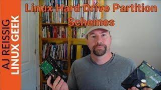 Basic Linux Drive Partion Schemes