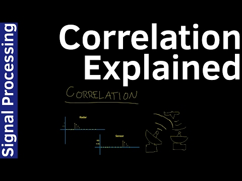 Signal Processing - 22 Correlation - Explained