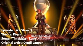 Beatrice Miller ~ All X Factor Performances