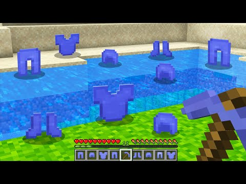 Minecraft BUT Water Drops Armor...