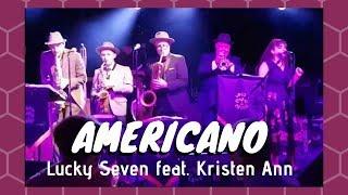 AMERICANO Brian Setzer Lucky Seven Feat Kristen Ann Live Performance Swing Jive Ball 2018