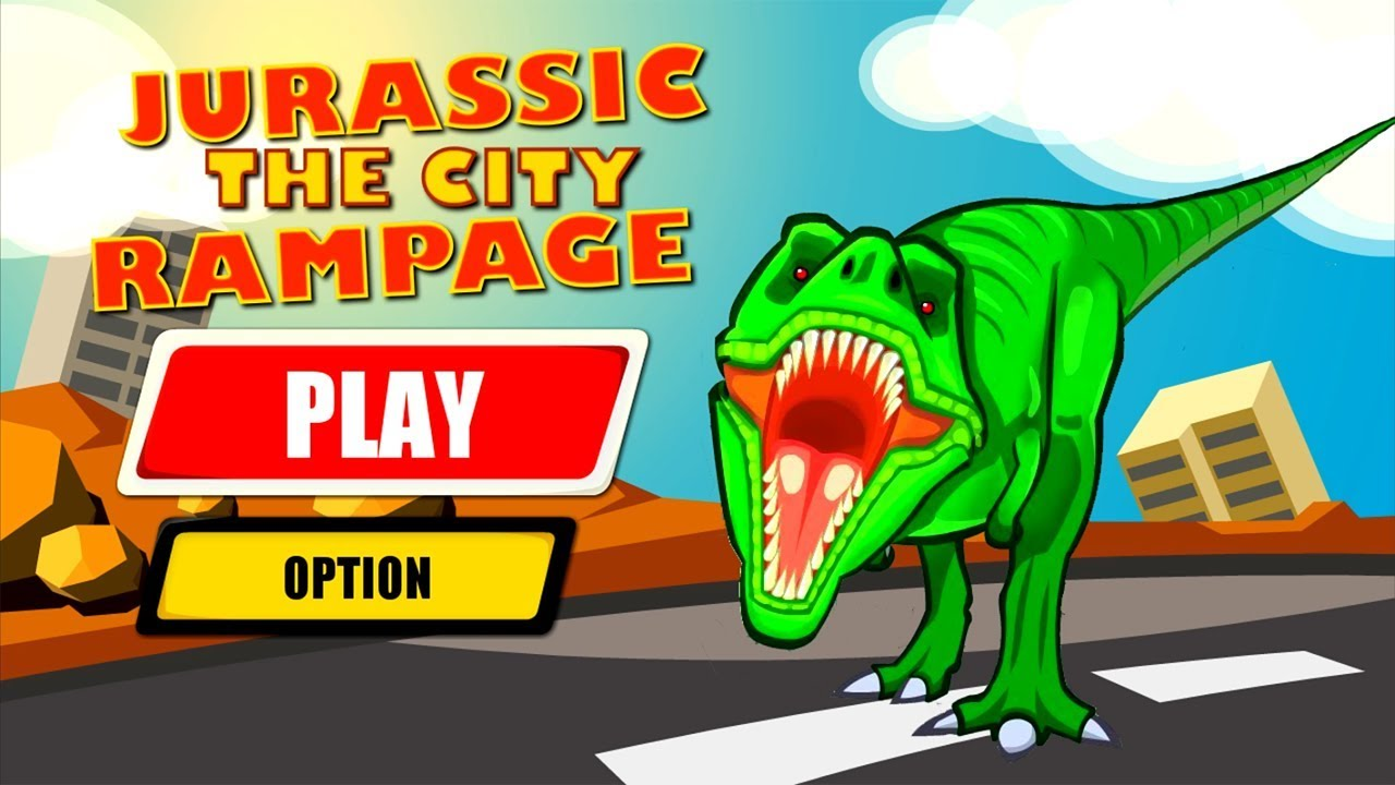 Jurassic Dinosaur City Rampage Android Gameplay HD image