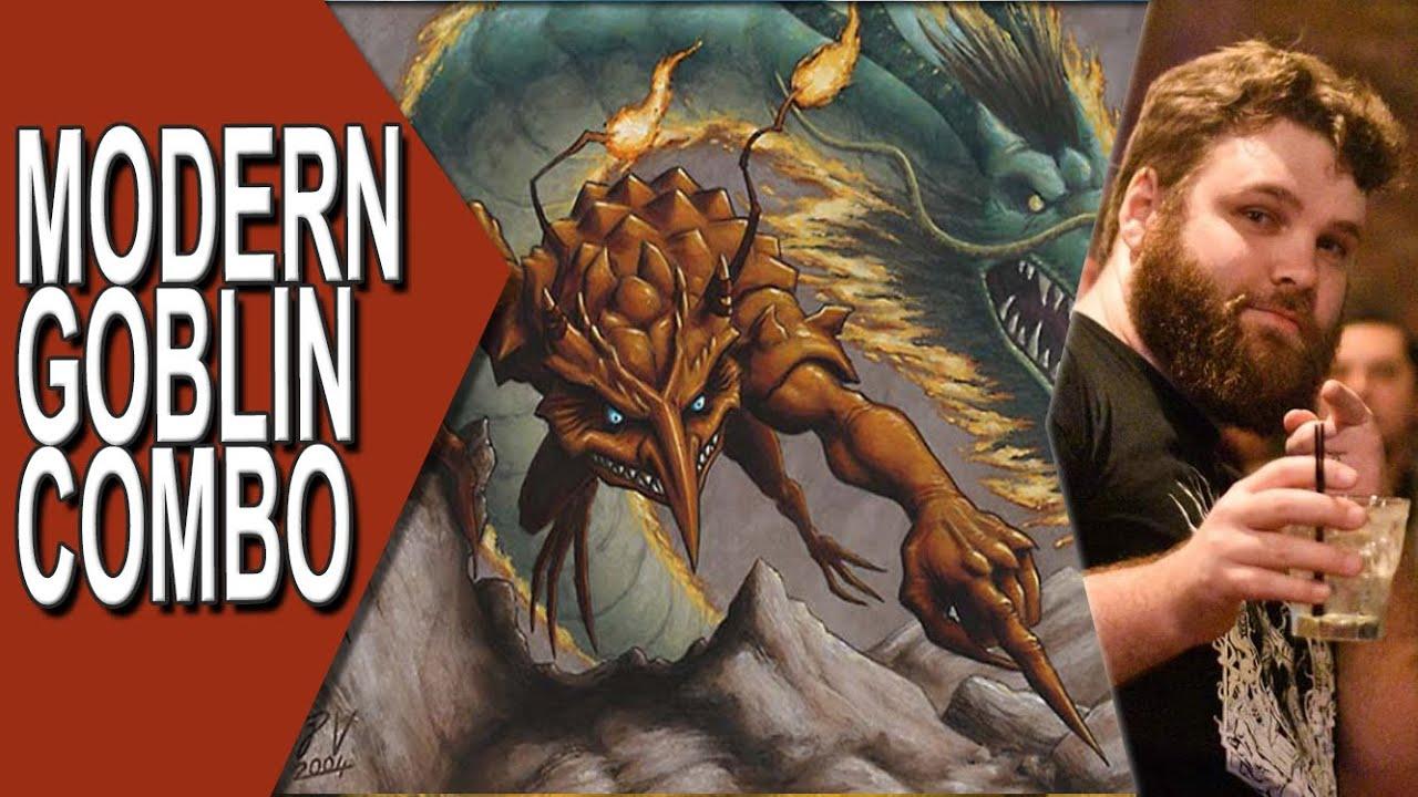 Modern Goblin Combo #3    Magic Online Gameplay
