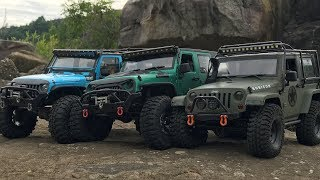 TRX-4 | SCX10(CJ10) | RCModelex | 3 Rubicon JK rock Trails
