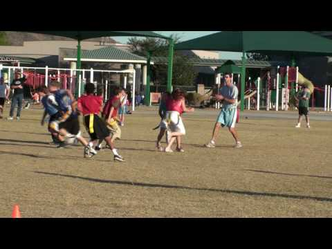 Flag Football - Quarterback Sack
