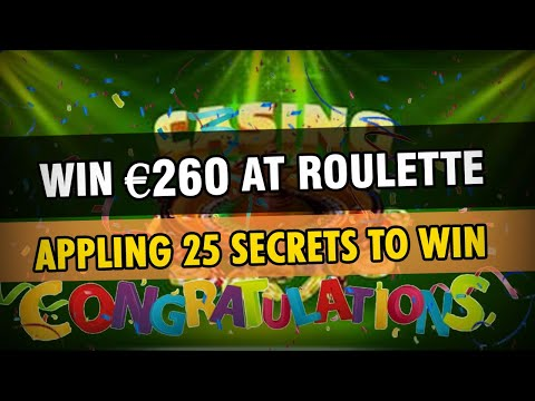 0 - WIN €240 in one Roulette Session