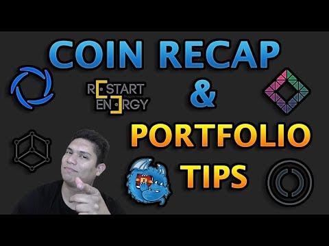 COIN RECAP AND PORTFOLIO TIPS