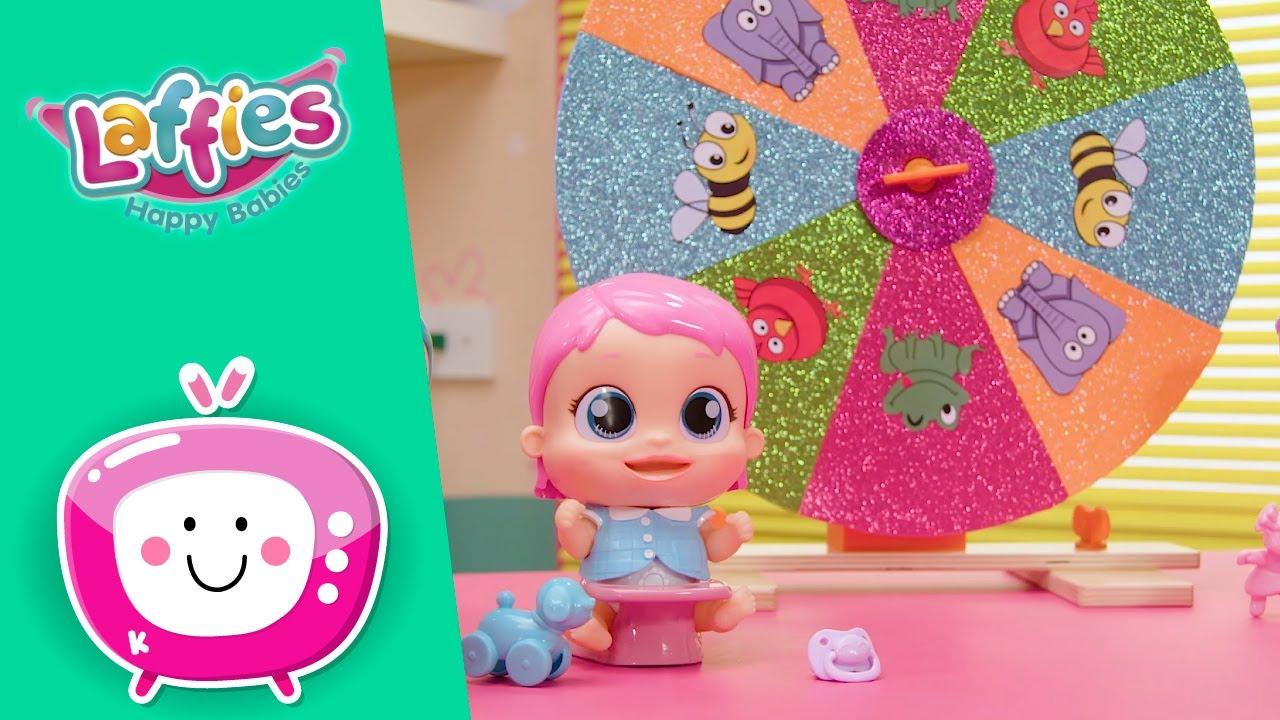 🎶 La Ruleta MUSICAL 🎶 LAFFIES 👶💞 Happy Babies 😄 Nuevo Episodio 🌈 Vídeos para niños en ESPAÑOL
