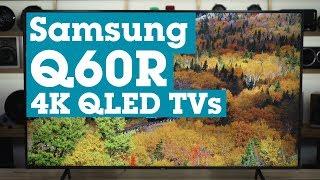 Samsung Q60R 4K QLED TVs | Crutchfield